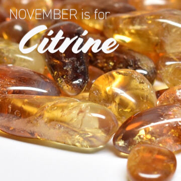 November is for Citrine